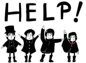 the_beatles_in_help_by_xmembrillita-d38k6xo